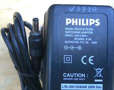GENUINE ORIGINAL Philips AY4129/5 9V 2A Power Supply mains adaptor Portable DVD