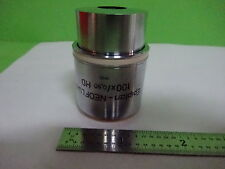 MICROSCOPE ZEISS GERMANY OBJECTIVE EPIPLAN NEOFLUAR 100X HD 442384 AS IS AI-A-06