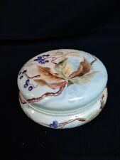 Limoges Large Vanity Powder Trinket Dresser Box Bowl Lid William Guerin Co W.G.