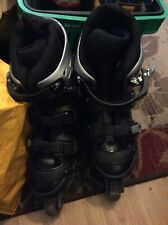 British Knights silver roller skates size 7