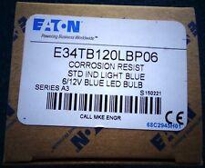 E34TB120LBP06 CORROSION RESIST, STD IND Light BLUE, NEW!!!