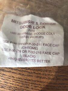 Asp Products Dp-22-109 Mitsubishi/dodge Door Lock Set - 1985-88