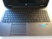 HP zBook 15 Biz / Gaming Laptop Core i5 8GB 500GB Windows 7 Pro Office 2010