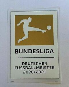 Bundesliga Meister Patch FC bayern münchen matchworn 20/21