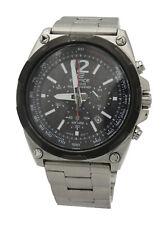 Casio MTD110D-7AV Mens Edifice Stainless Steel Analog Tough Solar 44mm Watch