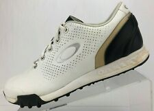 Oakley Golf Shoes Ripcord Spikeless White Soft Cleats Sneakers Mens Size 9.5