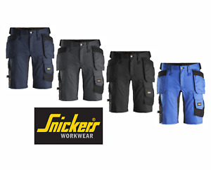 SNICKERS WORK SHORTS ALLROUNDWORK 6141 STRETCH HOLSTER POCKET SHORTS