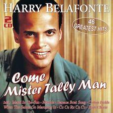 HARRY BELAFONTE - COME MISTER TALLY MAN-46 GREATEST HITS 2 CD NEU