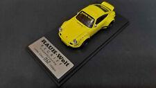 Model Collect RWB RAUH-Welt BEGRIFF Porsche 930 Ducktail 1/64 Yellow