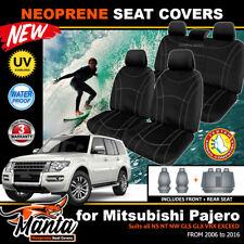 Manta Neoprene Seat Covers Mitsubishi Pajero NS NT NW GLS VRX GLX EXCEED 2006-16
