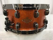 "Tama Starclassic Bubinga 14"" X 6.5"" Snare Drum/Lu Magnetic Orange/BS1465BNLUM"