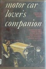 MOTOR CAR LOVER'S COMPANION, 1965 BOOK (JACQUES ICKX, W.O. BENTLEY, C.S. ROLLS +