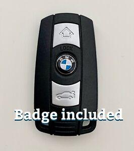 Compatible Car Key Fob Replacement for BMW 1 3 5 6 E90 E91 E60 E87 E92 E89