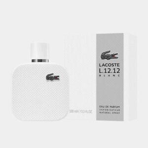 Lacoste L.12.12 Blanc 100ml Eau De Parfum GENUINE NEW & SEALED (A5)