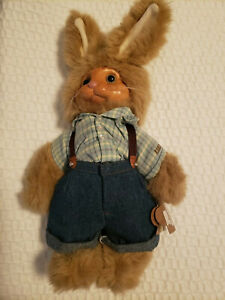 """Robert Raikes  """"Dylan"""" Rabbit Easter Spring Farm Tags Collectible Numbered"""