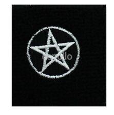 Unisex Black and White Pentagram Design Wristband Sweatband - Brand New
