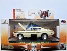 1969 Plymouth Barracuda 340  beige  / M2 Machines 1:64