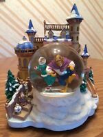 Rare Disney Beauty And The Beast Snow Globe (No Music)