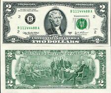 "UNITED STATES 2 DOLLARS USA. 2003 P 516 b (NEW YORK) ""B"" UNC"