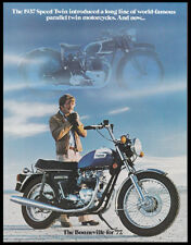 1977 TRIUMPH BONNEVILLE TIGER 750cc MOTORCYCLE BROCHURE CATALOG T140 TR7 TWIN