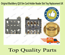 Original BlackBerry Q10 Sim Card Holder Reader Slot Tray Replacement UK