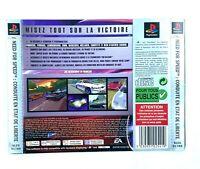 Jaquette arrière Need For Speed conduite en état de liberté Playstation PS1 FR
