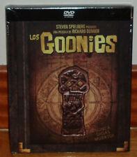LOS GOONIES THE GOONIES DIGIBOOK DVD+LIBRO NUEVO PRECINTADO STEVEN SPIELBERG R2