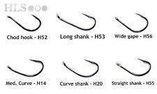 MARUTA KINRYU japanese fishing hooks. Carp chod widegape long curve shank - HLS
