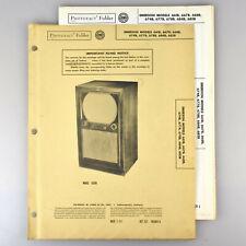 Emerson 661B 667B 668B 674B 677B Television Receiver Manual SAMS Photofact 137-4