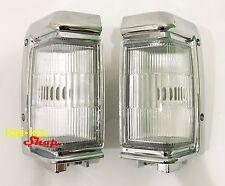 Front Corner Turn Signal Lights Lamp For 95-97 Nissan Terrano D21 Pickup LH RH