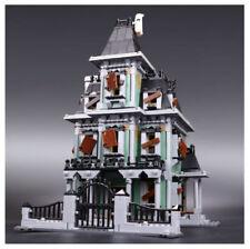 16007 2141Pcs Monster Fighters Haunted House Model Building Kits Blocks Bricks