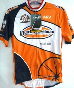 Louis Garneau-Mens Cycling Jersey-Extra Large-Full Zip, Short Sleeve-New w/ Tags