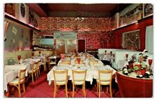 1960s Le Parisien Restaurant, Miami Beach, FL Postcard