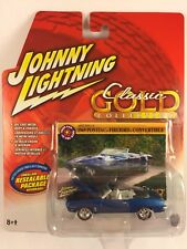 Johnny Lightning Classic Gold '69 1969 Pontiac Firebird Convertible DieCast 1/64