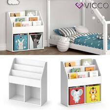 Kinderregal Spielzeugablage Bücherregal Aufbewahrungsregal Comic Luigi Vicco