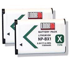 2x LOOKit Markenakku NP-BX1 für Sony PHX80B