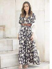 Viscose Long Sleeve Floral Zara Dresses for Women