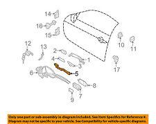Infiniti NISSAN OEM 08-13 G37 Front Door-Handle Base Left 80611JL00A