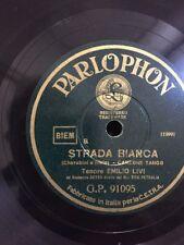 78 GIRI TenorI EMILIO LIVI canta STRADA BIANCA - GINO DEL SIGNORE canta VIENI