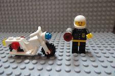 LEGO Classic Town Motorcycle Traffic Cop Policeman with Radar Gun