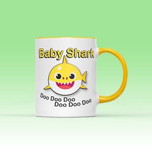 Baby Shark Family Mug - Funny Kids Song Present Gift Idea Viral Cartoon Family