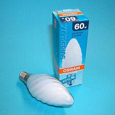 3 Stück Osram Kerzen Glühlampe gedreht Superlux Krypton SOFT WHITE 60W E14