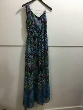 Meghan Fabulous gorgeous off shoulder maxi dress size 10