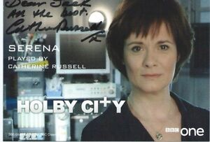 Catherine Russell (Holby City) Signed Cast Card