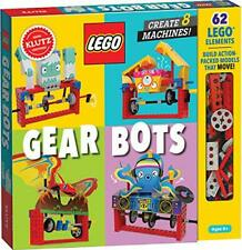LEGO Gear Bots: Create 8 Machines (Klutz) New Toy Book