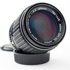 Clásico SMC PENTAX - 135mm Lente Teleobjetivo f/3.5... M K-1, K-3, K-5, K -50... Pk P/K