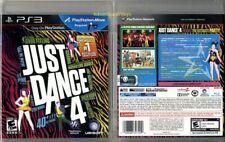 Sony Playstation 3 PS3 Move JUST DANCE 4 Ubisoft Video Game Brand New Sealed