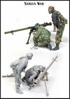 1/35 Resin Figure Model Kit Garage Syrian Wars Soldiers (2 figures) Unpainted