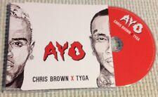 CHRIS BROWN X TYGA / AYO - CD single (Germany 2015) NEAR MINT