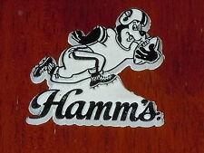 HAMM'S BEER BEAR FOOTBALL Vintage Old RUBBER FRIGE MAGNET Standings Board 1970s